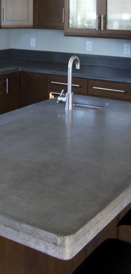 ... Recycled Glass Concrete Countertops That Contains Over 50% Recycled  Glass. In The Future We Hope To Increase The Recycled Glass Percentage And  Extend ...